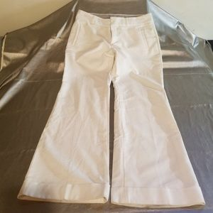 Banana Rep White Martin Trousers